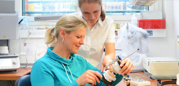 Zahnlabor in der Praxis Wussogk